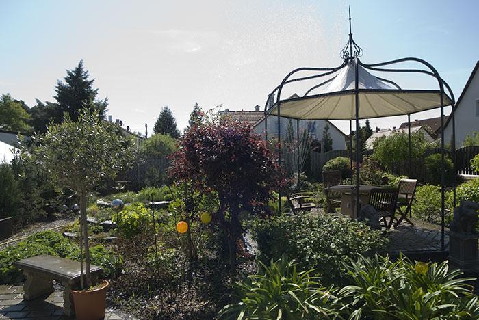 Gartenbaumschule mit Mustergartenanlage