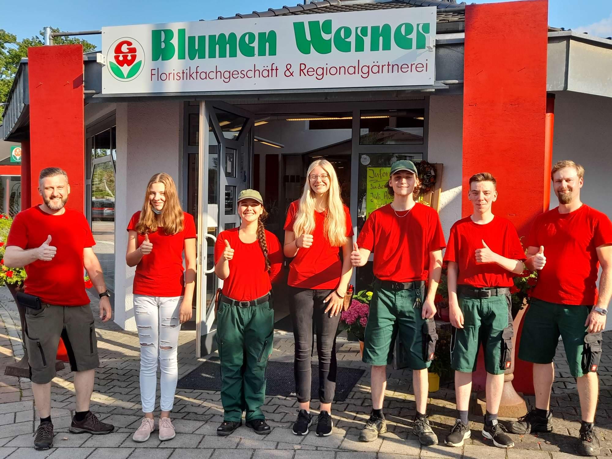 Ausbildung Blumen Werner